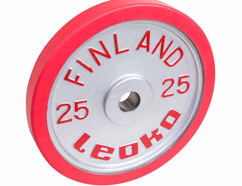 LEOKO Painonnostolevy IWF sääntöjen mukainen 25 kg
